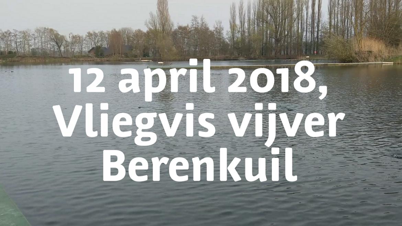 Vliegvisvijver 12 april 2018