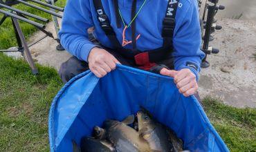 Bakken van vissen!!